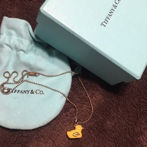 Tiffany & Co. yellow Ducky necklace